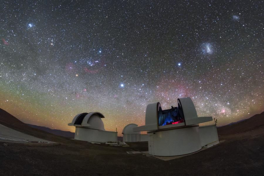 Обсерватория SSO провела первые наблюдения