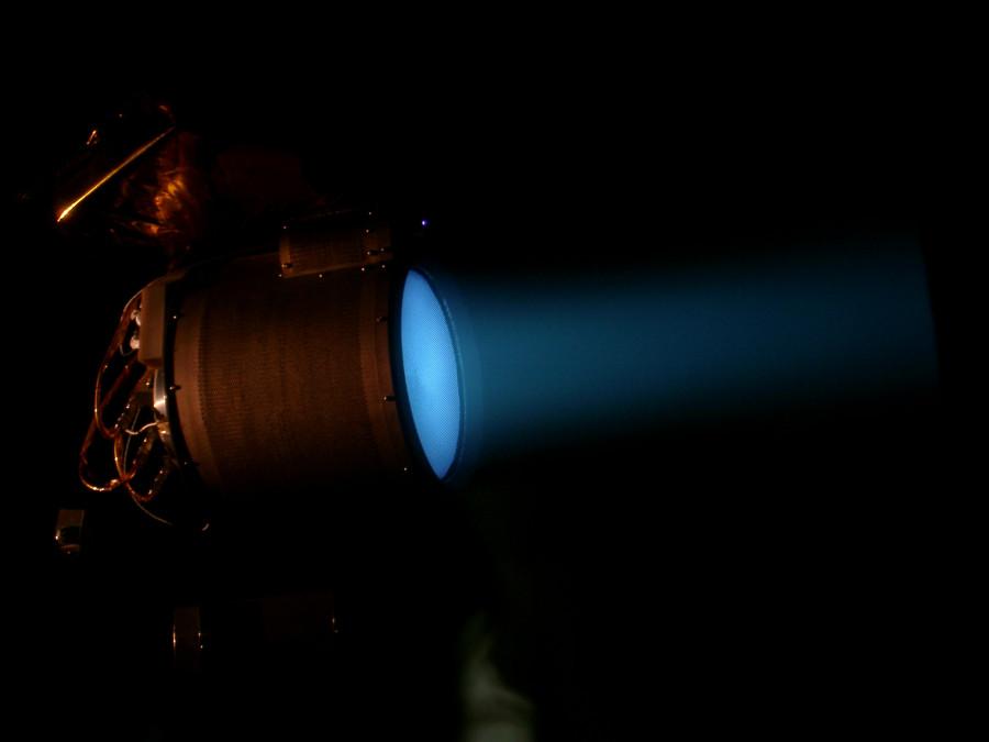 Станция BepiColombo проверила ионные двигатели