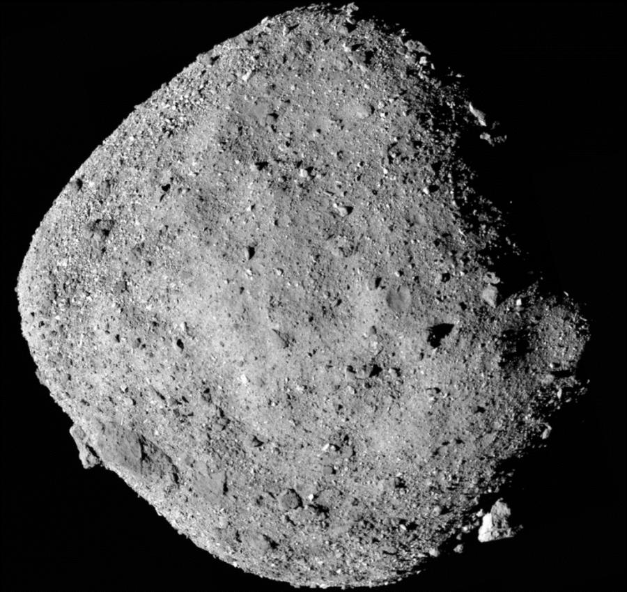 OSIRIS-Rex нашел следы воды на астероиде Бенну