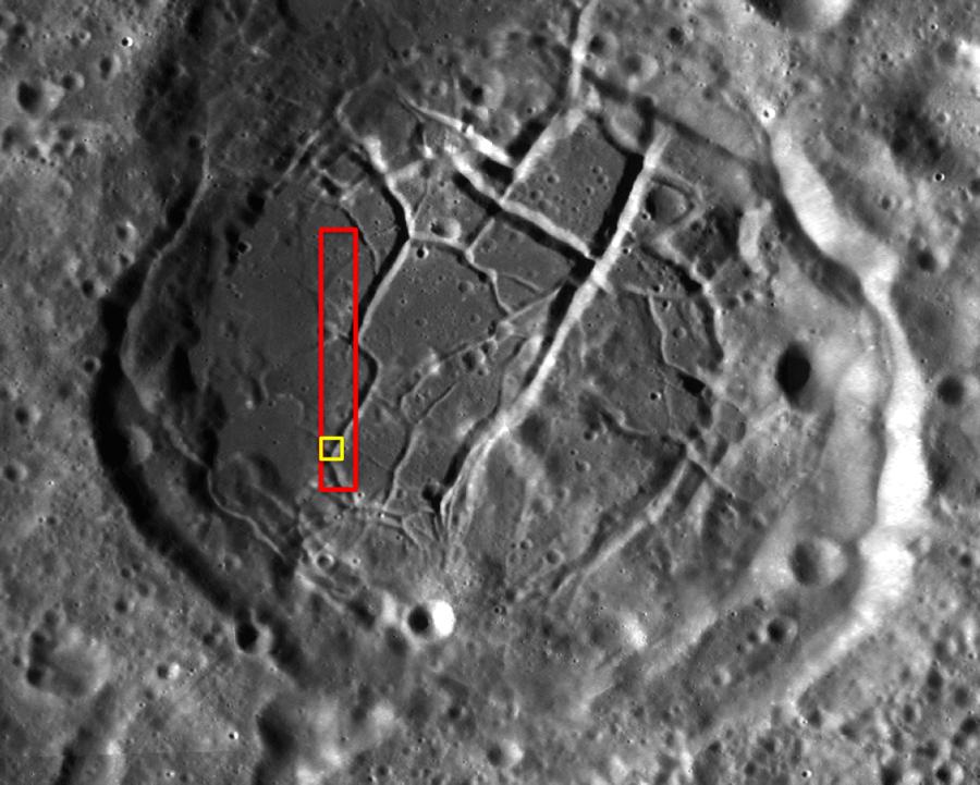 LRO сфотографировал борозды кратера Комарова кратера, Комарова, часть, Кратер, увидеть, структура, можно, имеют, водоема, крупнейшей, высохшего, достаточно, большие, грязью, борозды, которую, Длина, размеры, визуальное, покрыта