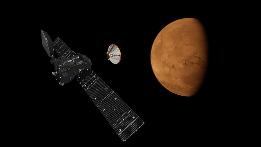 TGO все еще не может найти марсианский метан