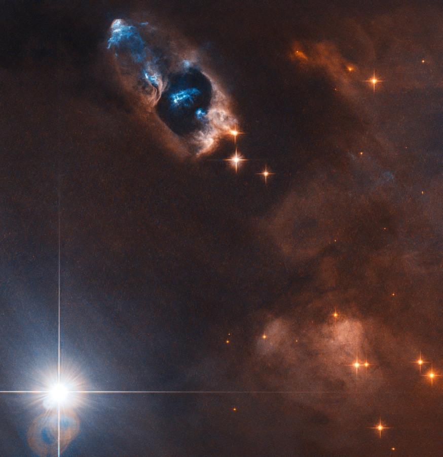 Объекты Хербига-Аро в туманности NGC 1333