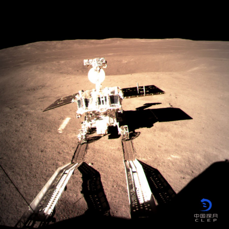 «Юйту-2» начал путешествие по Луне «Юйту2», связь, Землей, «Цюэцяо», платформы, стороне, помощи, спутникаретранслятора, будет, делать, сможет, поддерживать, аппарат, находящегося, системы, «ЗемляЛуна», Лагранжа, точки, галоорбите, районе
