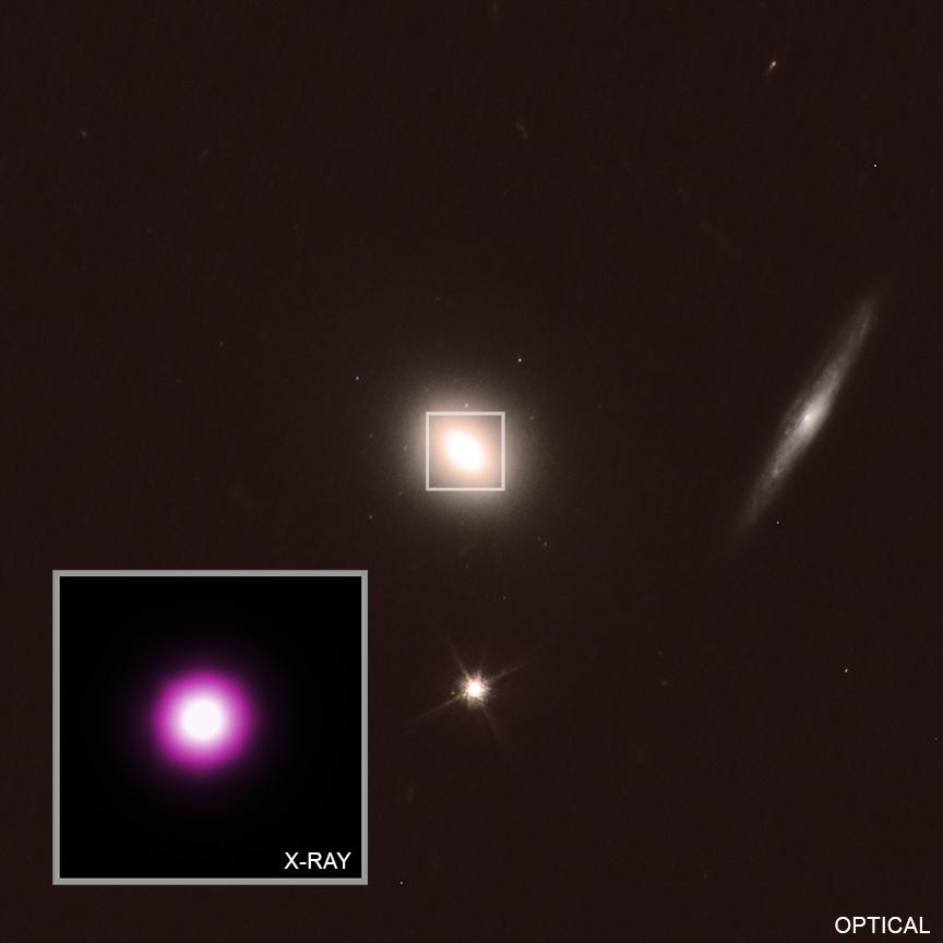 Астрономы измерили скорость вращения сверхмассивной черной дыры