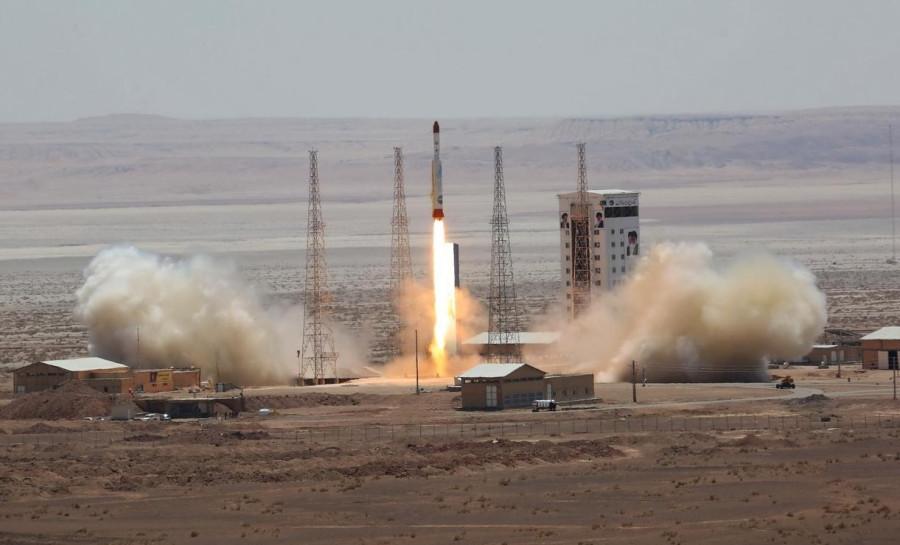 Запуск иранской ракеты «Симург» завершился неудачей