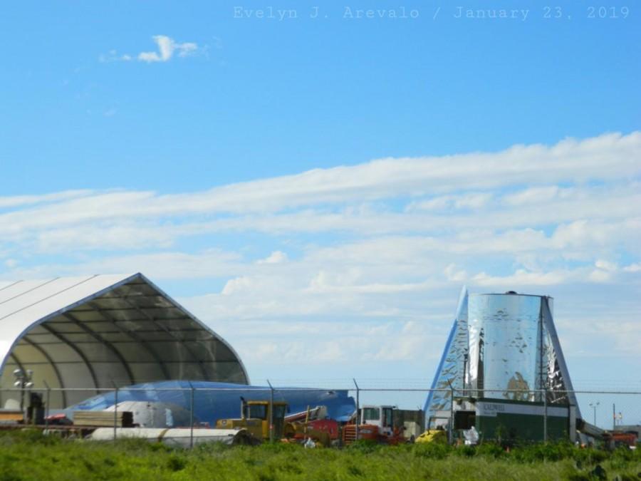 Ветер повредил атмосферный прототип Starship