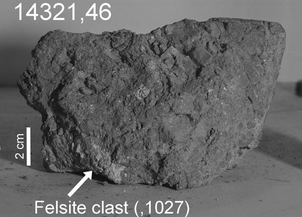 Ученые нашли следы земных пород в лунном реголите