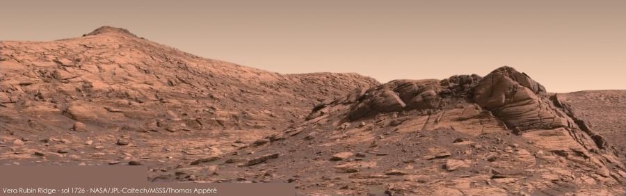 Curiosity сделал «прощальное» селфи на гряде Веры Рубин