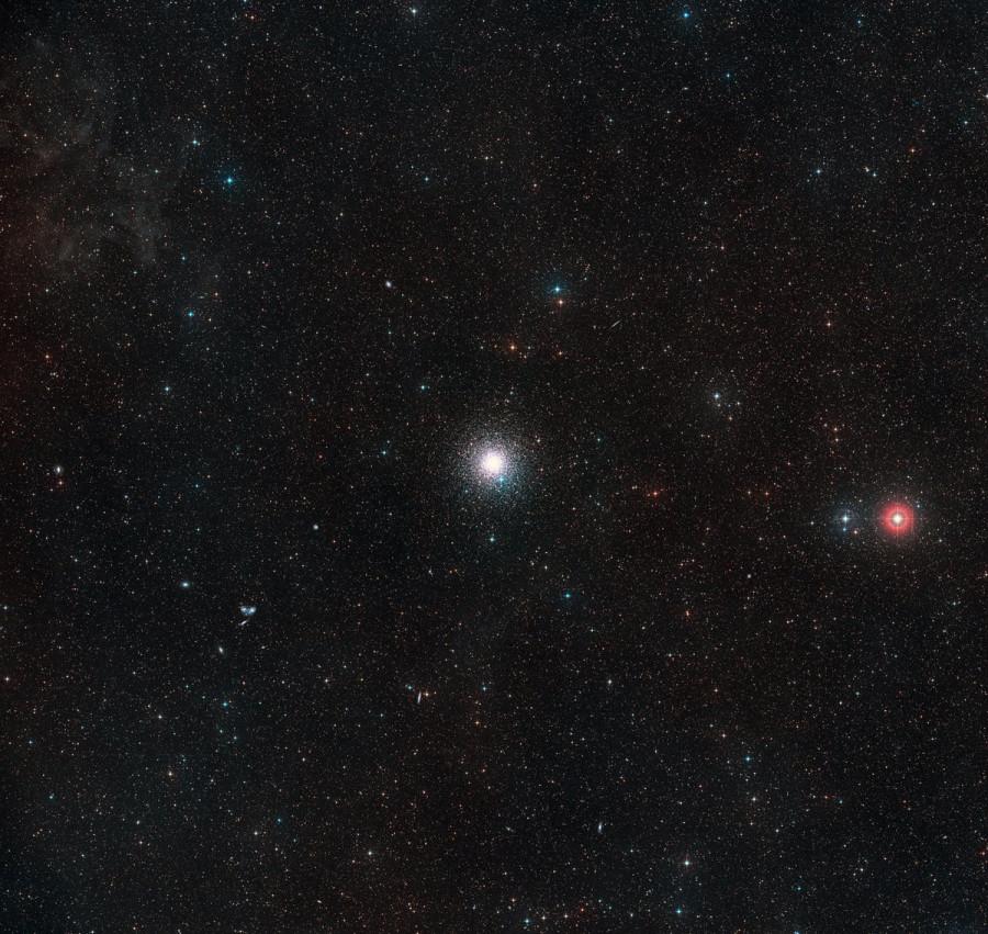 Астрономы случайно обнаружили карликовую галактику рядом с Млечным путем