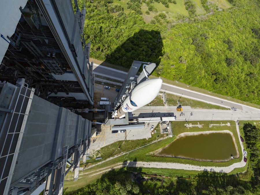 NASA выбрало ракету Atlas V для запуска миссии Lucy