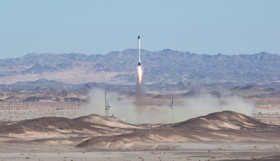 Запуск иранской ракеты «Сафир» завершился неудачей