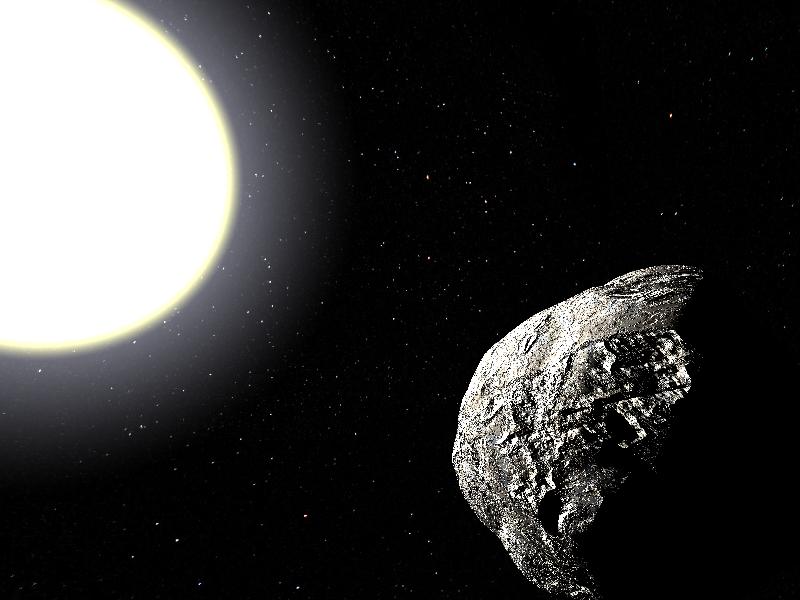 Найден астероид с редкими орбитальными характеристиками