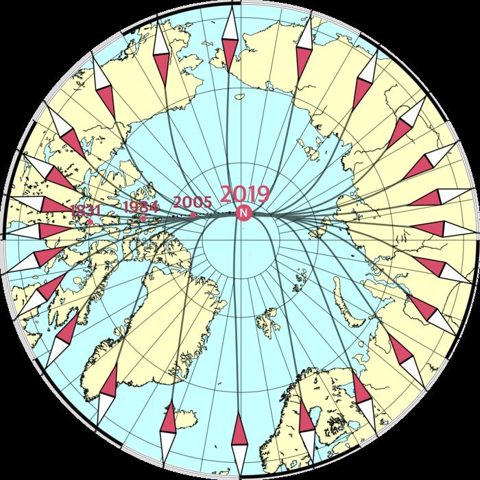 Спутники Swarm уточнили Всемирную магнитную модель