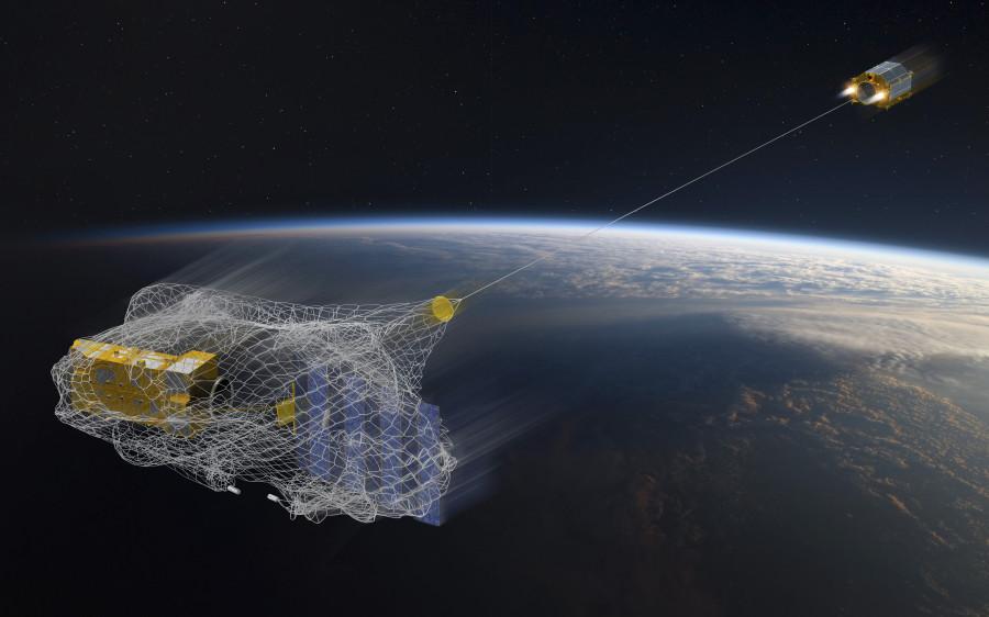 Аппарат RemoveDEBRIS испытал космический гарпун RemoveDEBRIS, мишень, чтобы, попадания, мусором, орбиты, момент, количества, тестовая, гарпун, условиях, космическим, испытание, панель, борьбы, успешно, аппарат, технологий, испытаний, разрушение