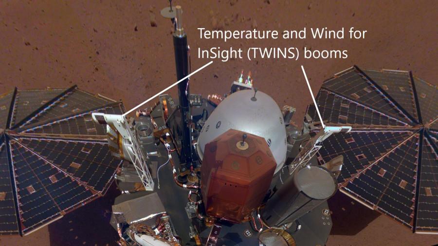 InSight рассказал о погоде на Марсе