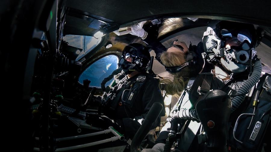 Virgin Galactic опубликовала видео полета SpaceShipTwo
