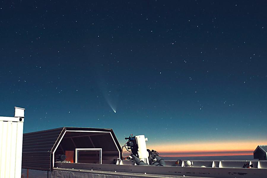 Трясущиеся звезды над Ла-Силья