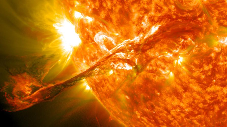 Ученые нашли следы солнечной вспышки произошедшей в 660 году до н. э.