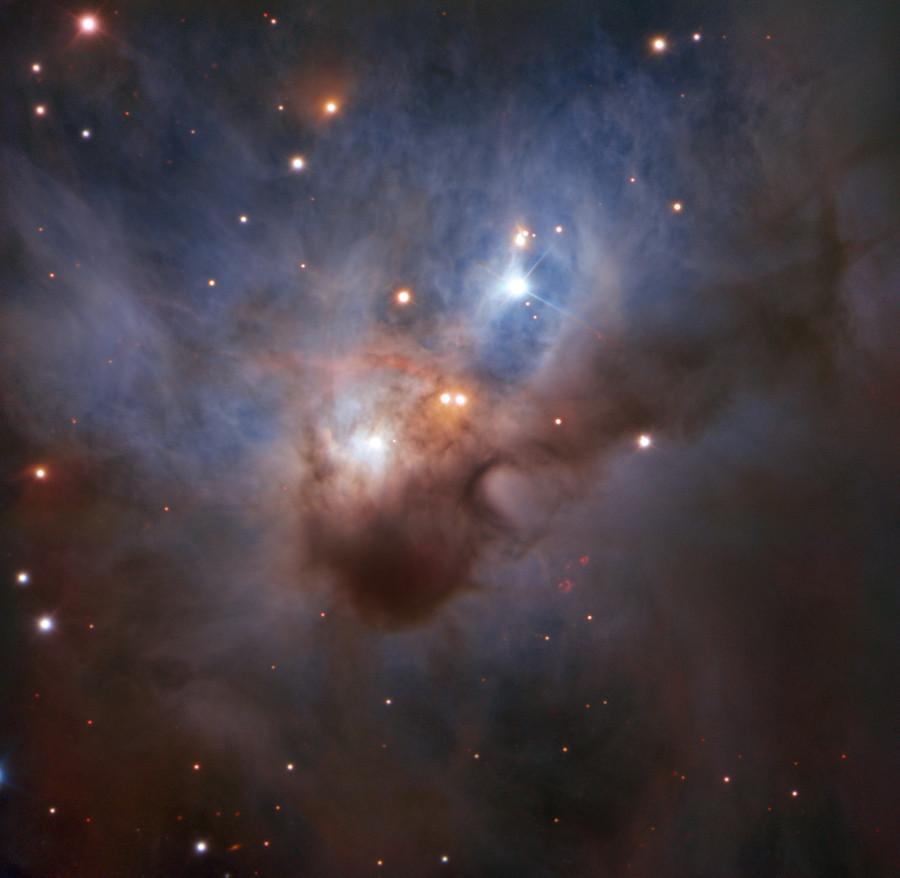 Космическая летучая мышь глазами Очень Большого Телескопа