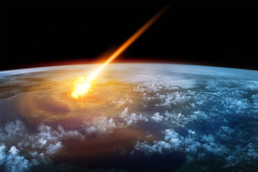 В прошлом году над Беринговым морем взорвался астероид