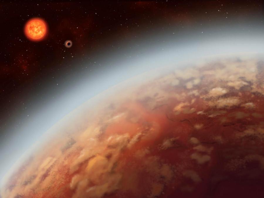 У близкого красного карлика найдены три экзопланеты