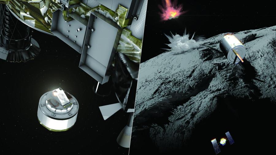 Бомбардировка астероида Рюгу намечена на 5 апреля