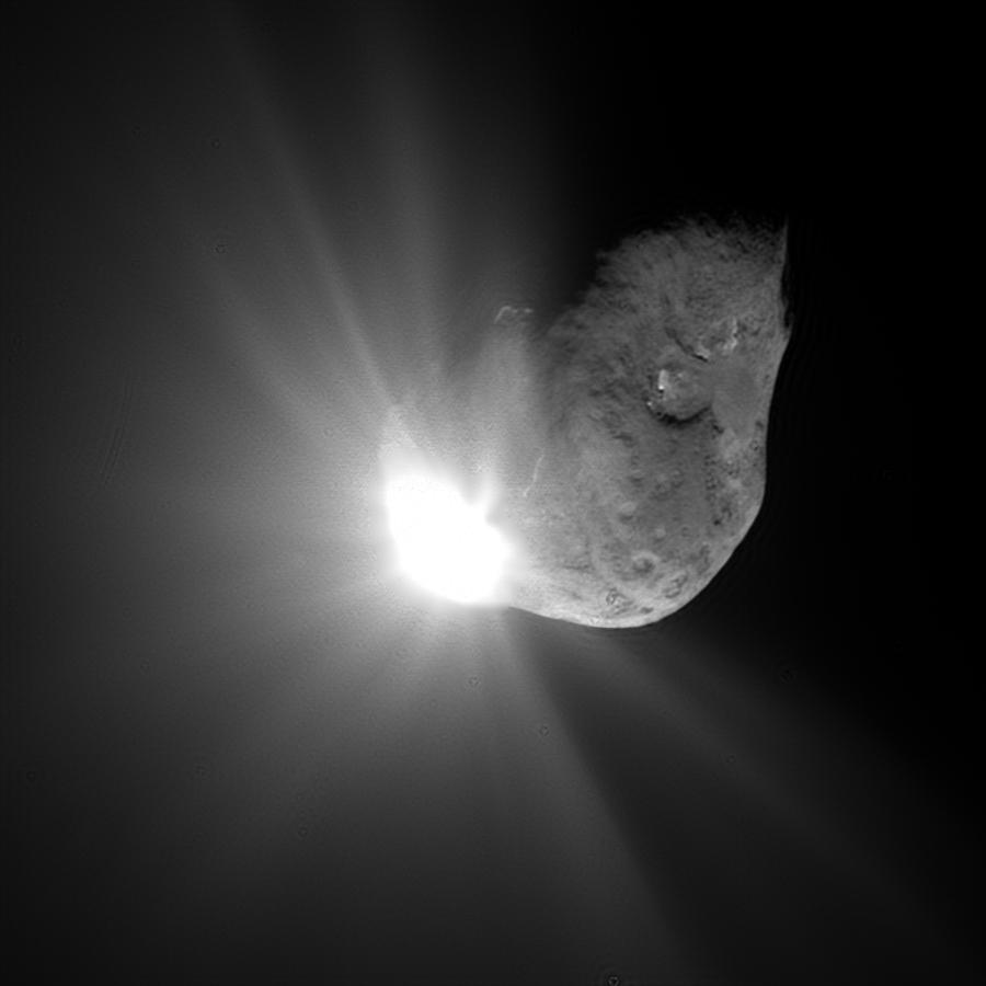 «Хаябуса-2» обстреляла астероид Рюгу столкновения, импактор, чтобы, этого, тысяч, медный, поверхности, удара, результате, кратер, DCAM3, 9PТемпеля, выпустил, ejector, «Хаябуса2», станция, программы, времена, отработанные, «Аполлон»