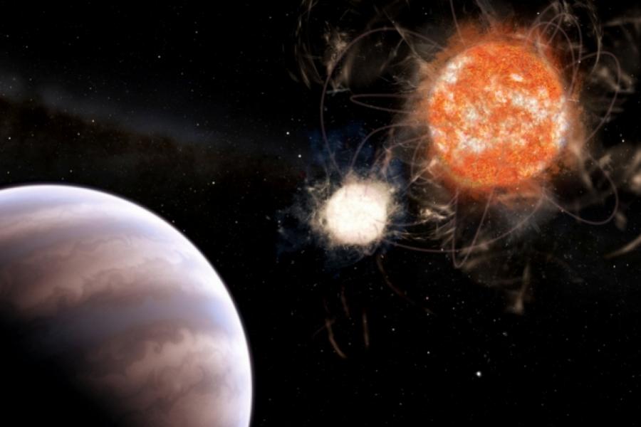 Найдена экзопланета в полумертвой системе