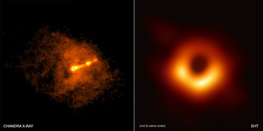Центр галактики M87 в рентгеновском диапазоне