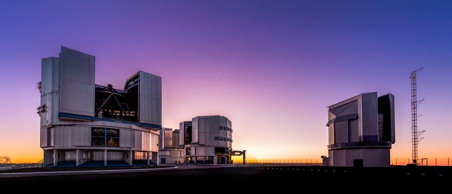 Очень Большой Телескоп, Ла-Манш и космический лазер