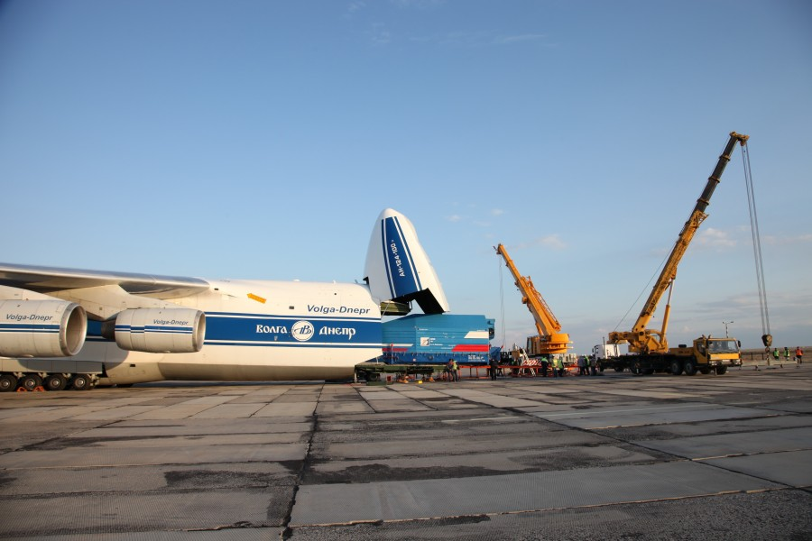 Телескоп «Спектр-РГ» прибыл на космодром Байконур