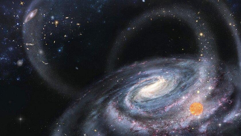 В Млечном Пути обнаружена звезда из погибшей галактики