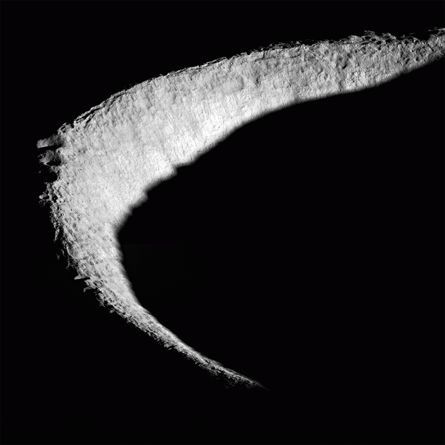 Маяки света на южном полюсе Луны
