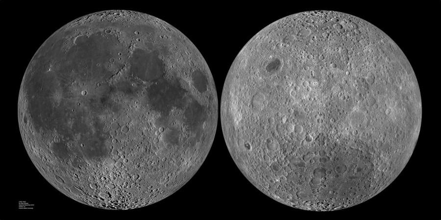 Асимметрию полушарий Луны объяснили последствиями гигантского столкновения