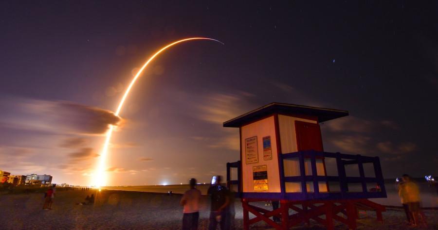 60 спутников системы Starlink выведены на орбиту