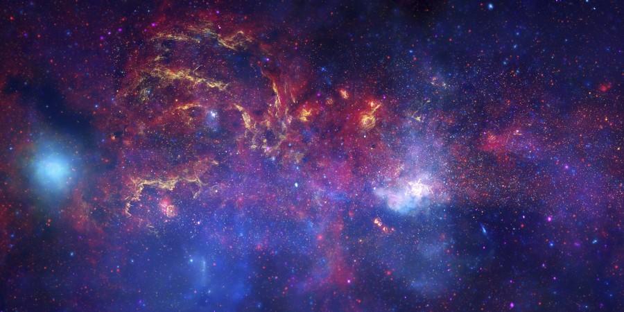 ALMA сфотографировал кольцо газа в центре Млечного пути