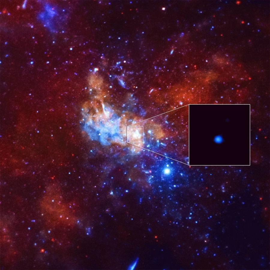 «Спектр-РГ» пронаблюдал центр Млечного пути