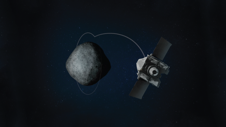 OSIRIS-REx установил новый рекорд высоты орбиты
