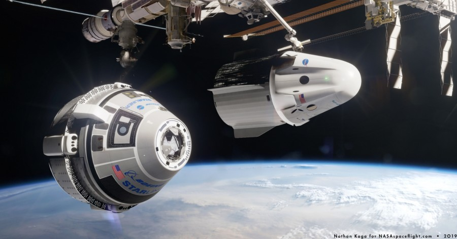 SpaceX и Boeing планируют осенние испытания Dragon 2 и Starliner