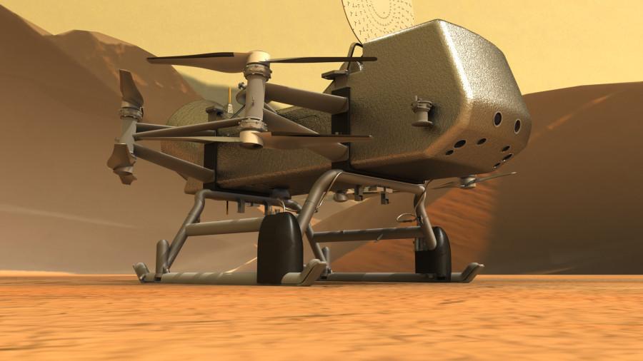 NASA запустит октокоптер на Титан