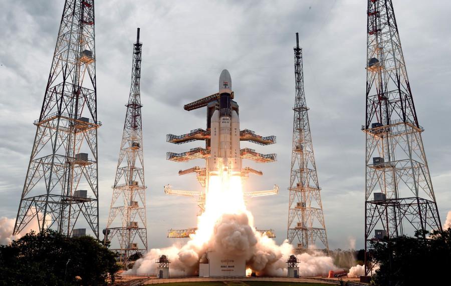 «Чандраян-2» отправился в путешествие к Луне