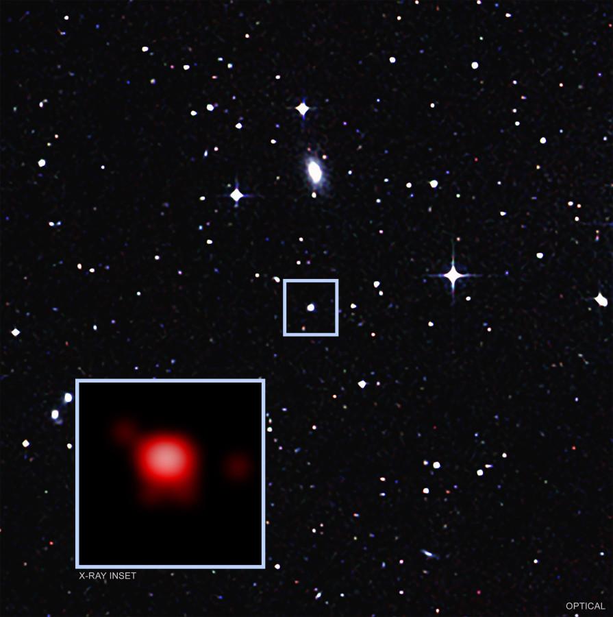 Обнаружена черная дыра поглощающая вещество с девятичасовым интервалом