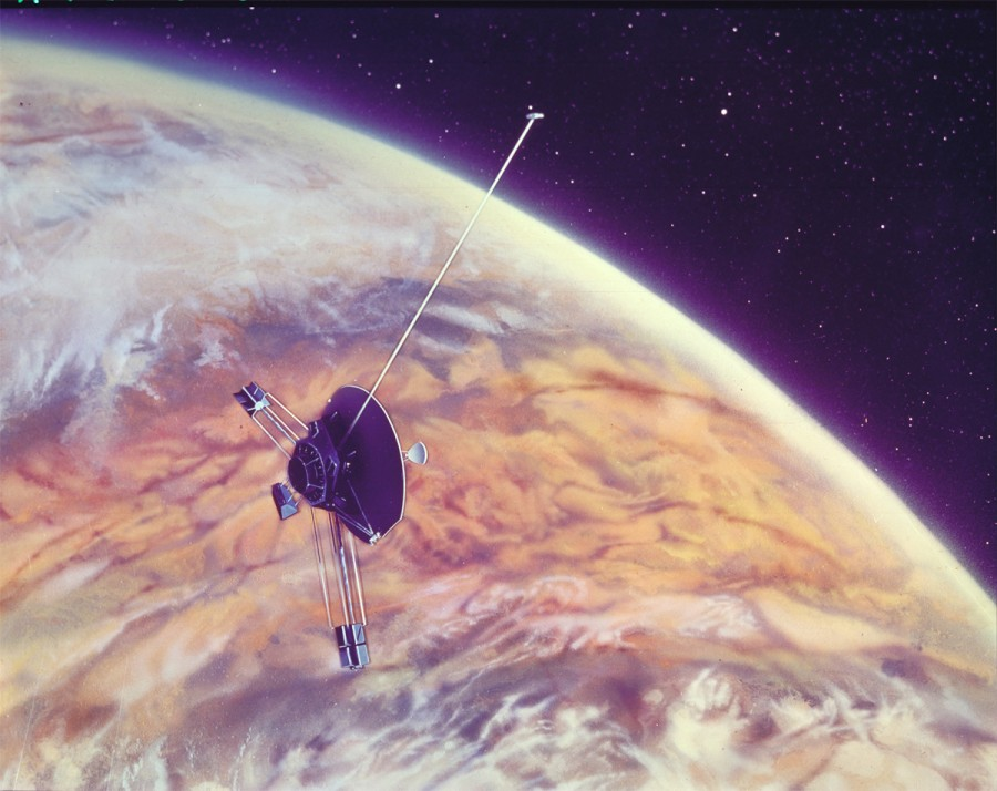 "Ten achievements of ""Pioneer-10"" ""Pioneer 10"", Jupiter, apparatus, First, launch, Solar, mission, apparatus, asteroids, through, ""Pioneer 10"", apparatus, systems, part, Sun, after, radiation, radiation, several, pictures"