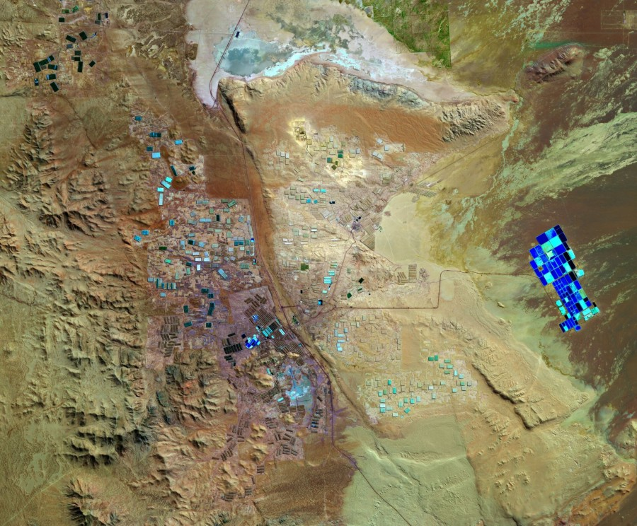 Добыча полезных ископаемых в пустыне Атакама