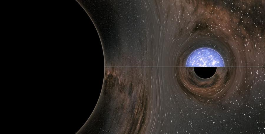Астрономы нашли объект промежуточной массы между нейтронной звездой и черной