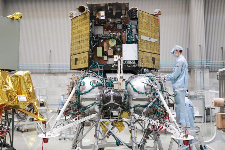 Запуск «Луны-25» перенесен на 2022 год