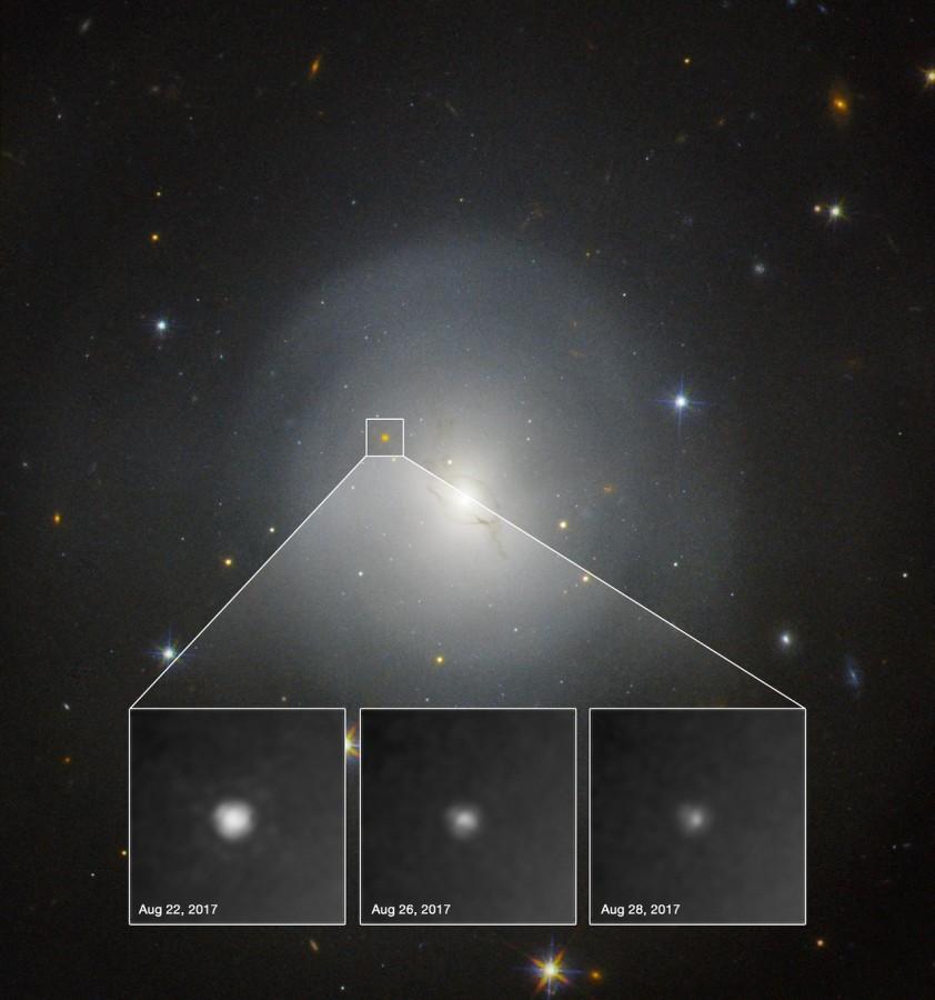 Слияние нейтронных звезд завершилось образованием черной дыры