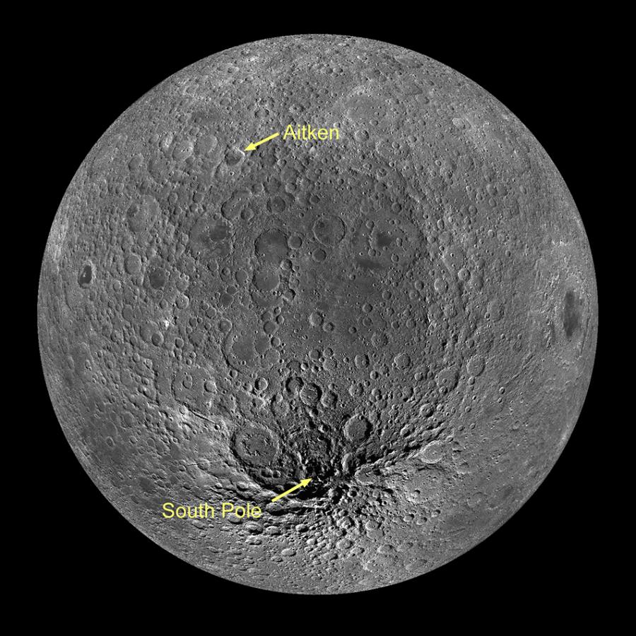 Лунную гравитационную аномалию связали с остатками древнего астероида