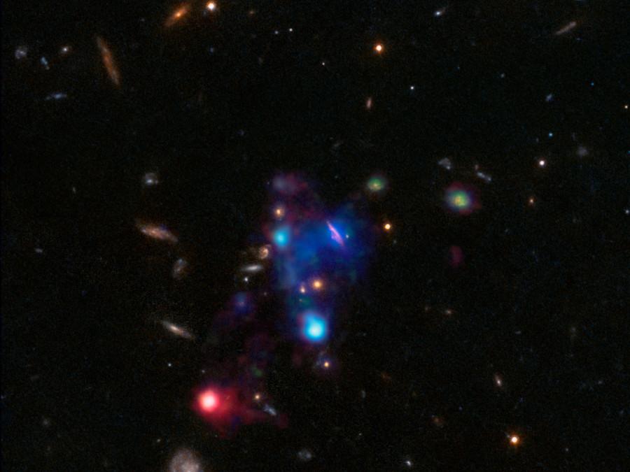 Очень Большой телескоп сфотографировал огромный космический пузырь