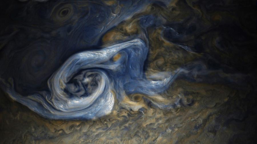 Станция «Юнона» приоткрыла тайны глубин Юпитера